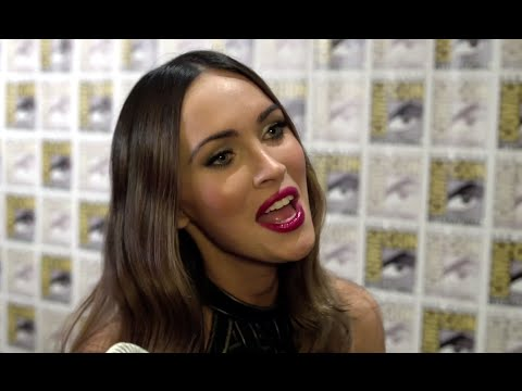 Comic Con 2014 - Megan Fox JoBlo Shout Out (2014) TMNT HD
