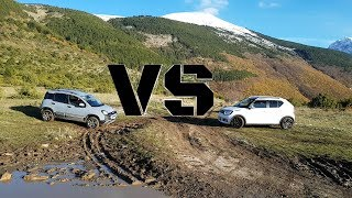 Fiat Panda Cross 4x4 vs Suzuki Ignis 1.2 HYBRID 4WD | VS