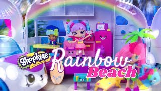 Unbox Daily: Shopkins Rainbow Beach | ULTIMATE HAUL