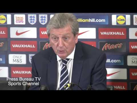Roy Hodgson reaction England vs France