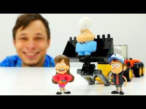 Игры для детей. Мэйбл в плену Гидеона! Супер #Машинка для #Диппер 🚗 Видео игрушки #ГравитиФолз