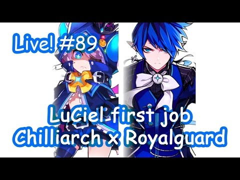 Elsword Kr - Luciel The First Job Testplay : Live Streaming #89 video