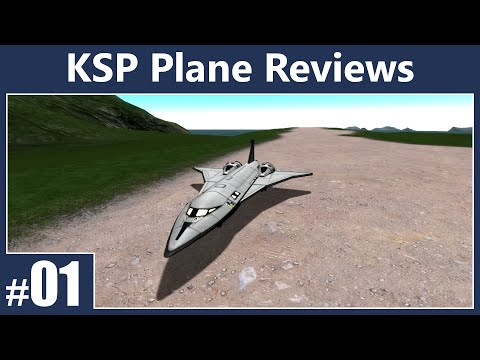 Plane Reviews Episode 1 (KSP) - Science. Ions. and a Lack of Control!