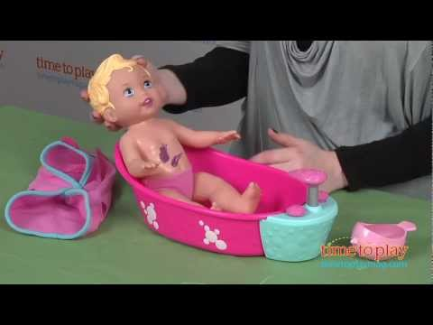 Little Mommy Bubbly Bathtime From Mattel video