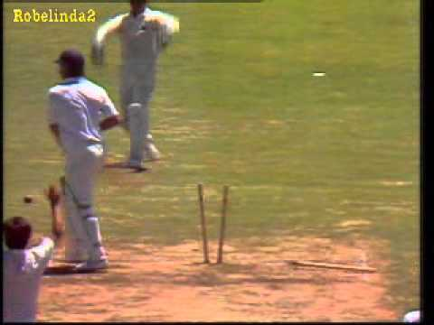 Stuart Broad's dad, the infamous stump smashing incident at the SCG