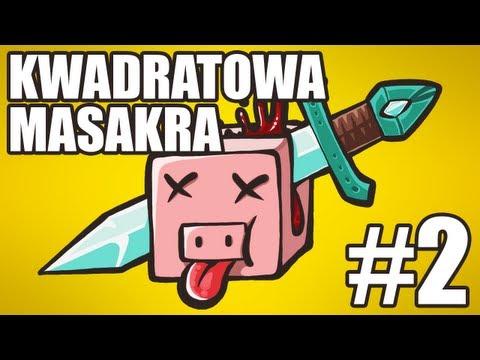 Kwadratowa Masakra 3, #2: KURS GOTOWANIA! (MinecraftBlow & skkf)