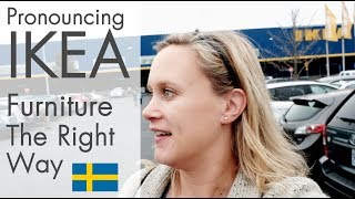 What Stuff at IKEA Really Sounds Like in Swedish - Vlog 6