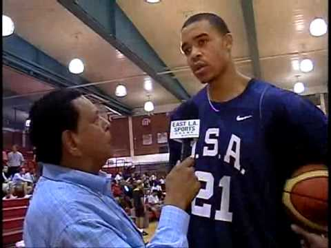 Javale Mcgee -Interview- USA Basketball Mini Camp 2009, Las Vegas Video