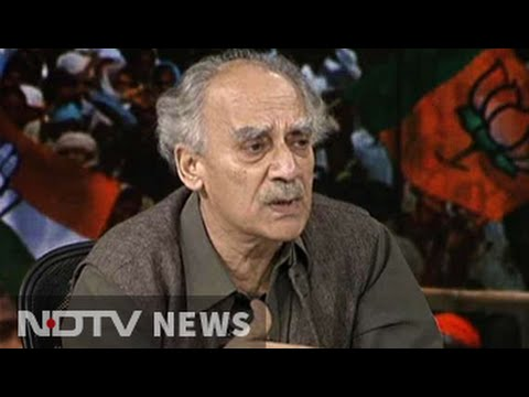 Modi supporters on social media abused my disabled son: Arun Shourie