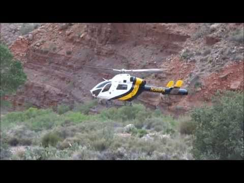 Helicopter at Cottonwood Campground