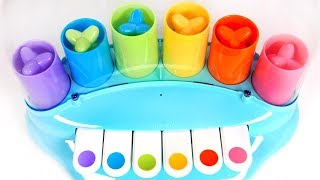 Learn Colors with POP Piano Playset for Kids | Learn with Yippee Toys