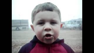 SO CUTE: Little boy recites Psalm 100!!! Watch till the end!!!  :)