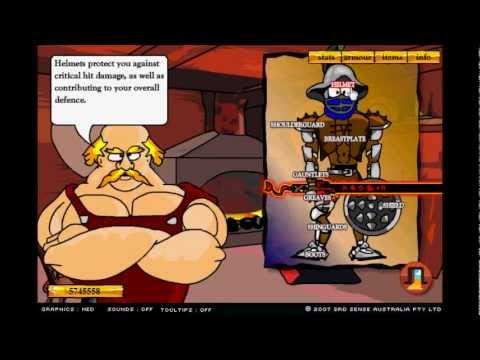 Swords and Sandals 2 HACKED!