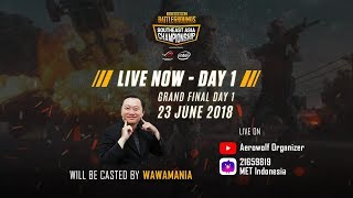 PUBG SEA Championship 2018 Official Indonesia Broadcast