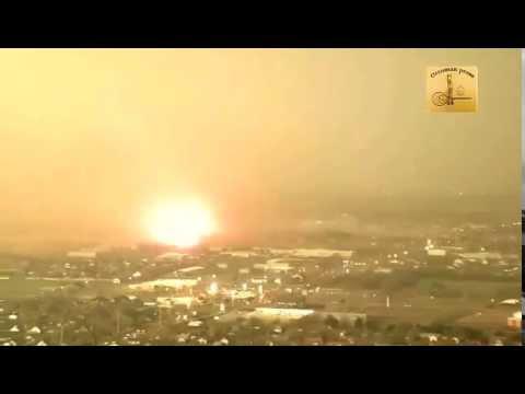 24/6/2015 Tornado en Oklahoma desde helicóptero