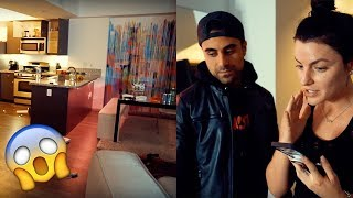 SOMEONE BROKE INTO MARK DOHNER'S APARTMENT! *Prank Gone Wrong*