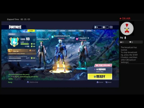Playing fortnite game play no audio...
