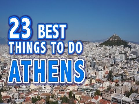 23 BEST THINGS TO DO IN ATHENS, GREECE ♥ Top Attractions Athens