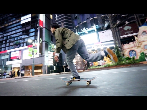 TOKYO NIGHT SKATEBOARDING MISSION