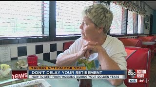 Delaying retirement: Many struggle to save, fail to plan
