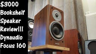 Stereo - Dynaudio Focus $3000 high-end bookshelf speaker review !!!