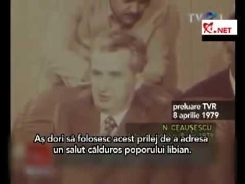"""Ceauşescu şi """"fratele Gaddafi"""" - prietenia celor doi dictatori"""