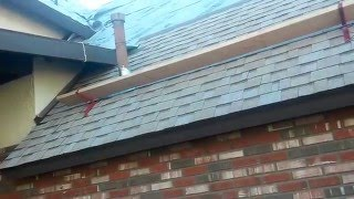 How To : Installing a new roof over a Very STEEP ROOF, using roof jacks and a lot of guts!