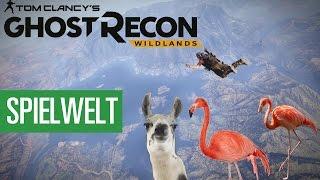 Ghost Recon: Wildlands - Wie lebendig ist die Spielwelt?