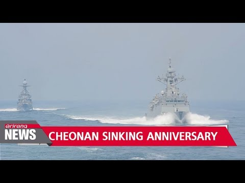 Navy Holds Annual Maneuvers As S. Korea Remembers Victims On 8th Anniversary Of Cheonan Sinking