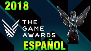 The Game Awards 2018 LIVESTREAM en ESPAÑOL