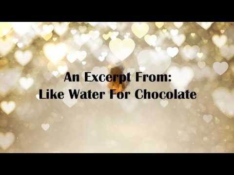 Kashu Reads: An Excerpt From Like Water For Chocolate