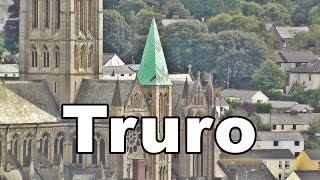 Truro City and Cathedral in Cornwall England