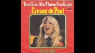 Watch Lynsey De Paul You Give Me Those Feelings video