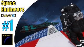 "Space Engineers (S6) #1 ""Первый бой"""