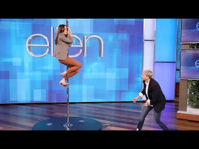 Aubrey Plaza Channels Jennifer Lopez on the Pole thumbnail
