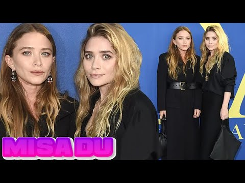 Mary-Kate and Ashley Olsen match in all-black at CFDA Fashion Awards