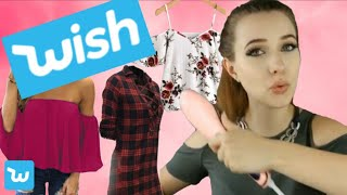 Wish Haul| Live Test | Werbung vs. Realität | Try on Haul | by Mrs.Micky