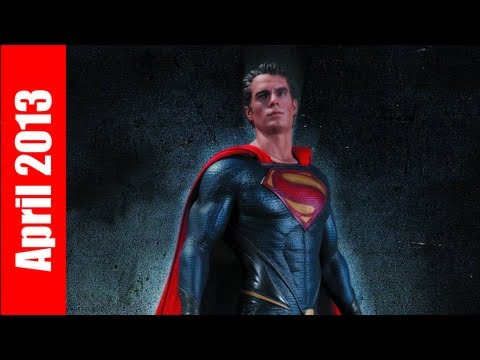 Superman Man of Steel Statue, Sonic Screwdriver Remote, Funko Figures! Previews Reviews April 2013