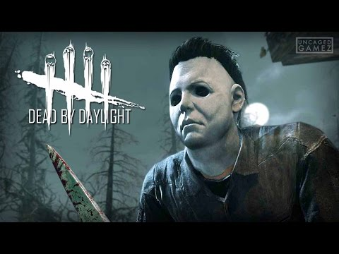 Dead By Daylight: First Game With Michael Myers! (Killer)