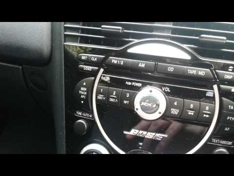 Mazda RX8 Alternative MP3/SD radio Adaptor (like Connect2)
