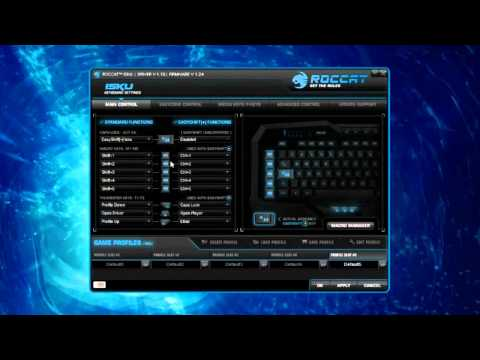 ROCCAT ISKU Gaming Keyboard Software Overview