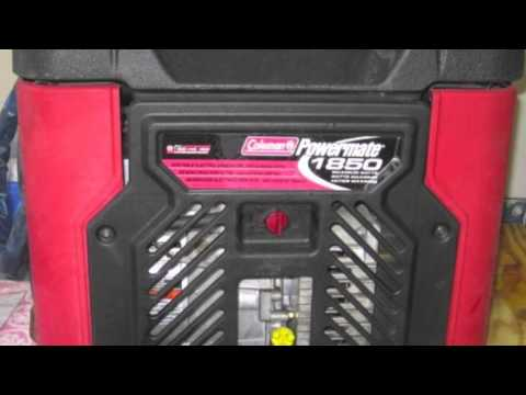 Popular Coleman Powermate 1850 Generator Units From Mega Pulse Watt to Sport Generators