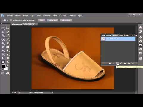 Introducción a la herramienta trazados de photoshop cc
