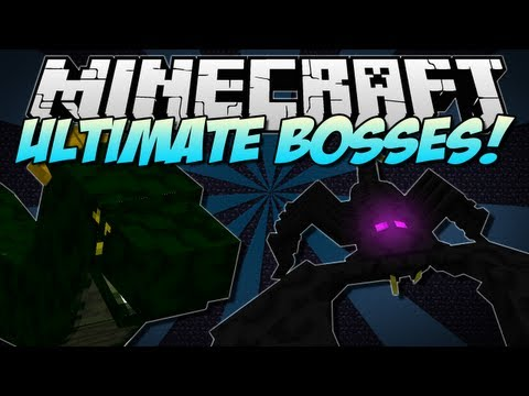 Minecraft   ULTIMATE BOSSES! (Emperor Scorpion. Basilisk & more!)   Mod Showcase [1.5.2]