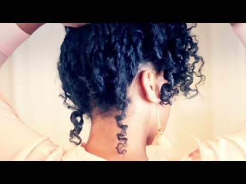 Leave In Conditioner Recipe & Romantic Curls Tutorial for Natural Hair