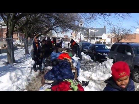 1/30/16 Homeless Outreach - Baltimore (post blizzard edition)