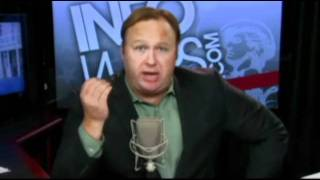 Alex Jones Calls for END THE FED Flash Mob in NYC Friday Aug 12 2011 w/ Danny Panzella