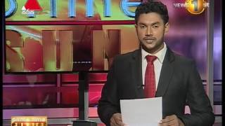 News1st Prime Time News Sunrise Sirasa Tv 11th August 2017