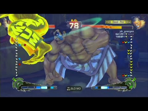 Doritos (E. Honda) VS Metal God (Dee Jay) - SSFIV AE2012 - Casual Endless