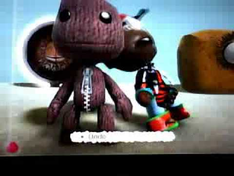 lbp sackboy singing and dancing the jerk